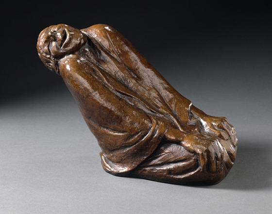 Echoes from Emptiness - Ernst Barlach: Laughing Old Woman