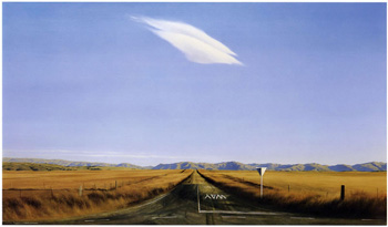 Road West - Ida Valley, Grahame Sydney