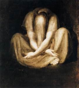Johann Heinrich Füssli - The Silence