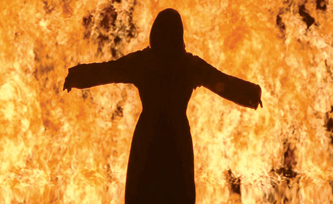 Bill Viola - Firewoman, 2005