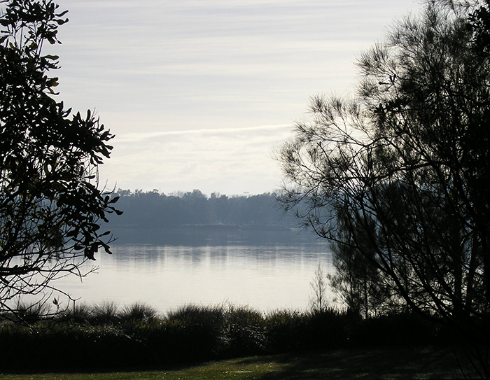 Miriam Louisa Simons, Lake Macquarie, dawn