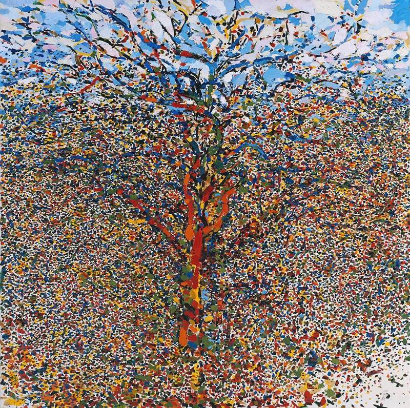 Philip Sutton, The Tree, 1958